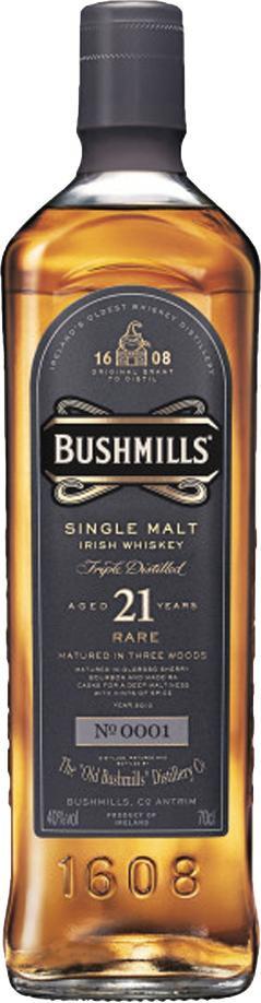 Bushmills 21 Y.O 70cl