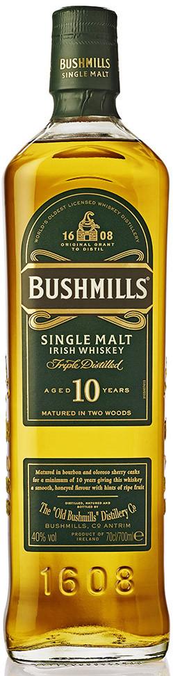 Bushmills 10 Y.O. 70cl